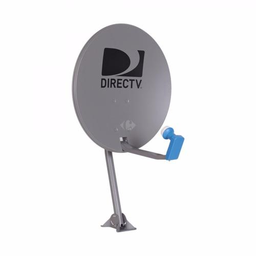 decodificador de directv hd prepago con kit completo