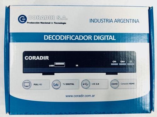 decodificador digital coradir para tda
