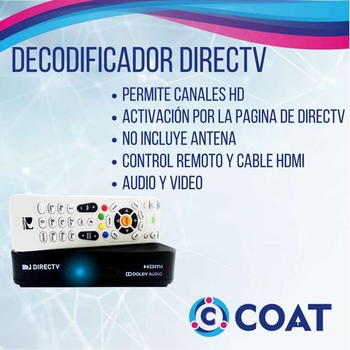 decodificador directv hd prepago venezuela,