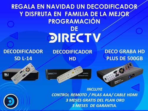 decodificador directv hd somos  tienda fisica