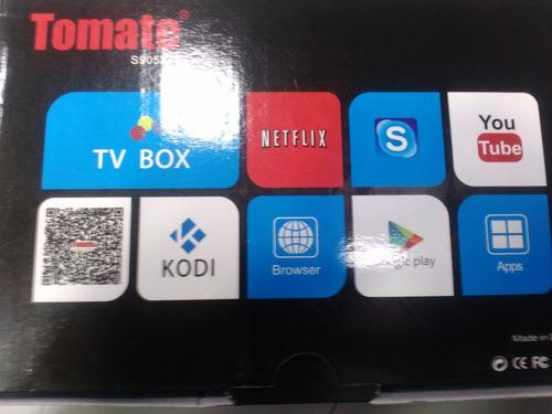 decodificador iptv android tomate