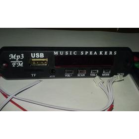 Decodificador Mp3 - Sd, Usb, Mp3 Controle Remoto