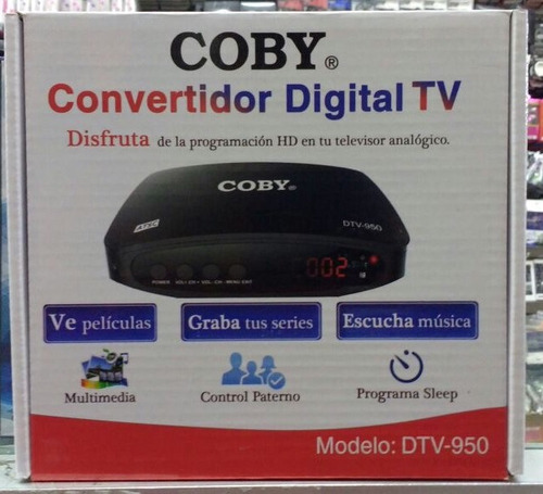 decodificador para tv analógica diversas funciones