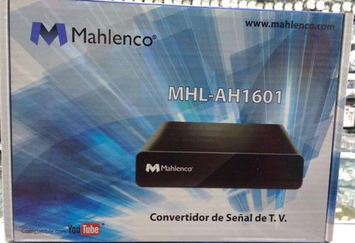 decodificador para tv analógica/digital conexión a internet