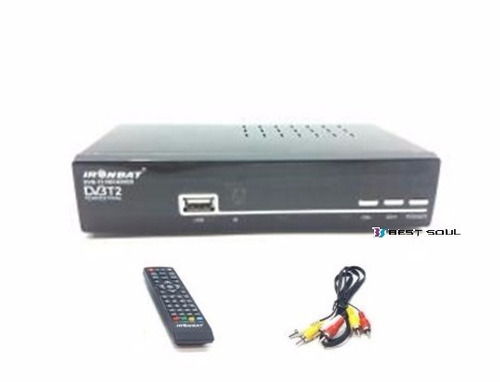 decodificador receptor tdt tv digital terrestre dvb hdmi usb