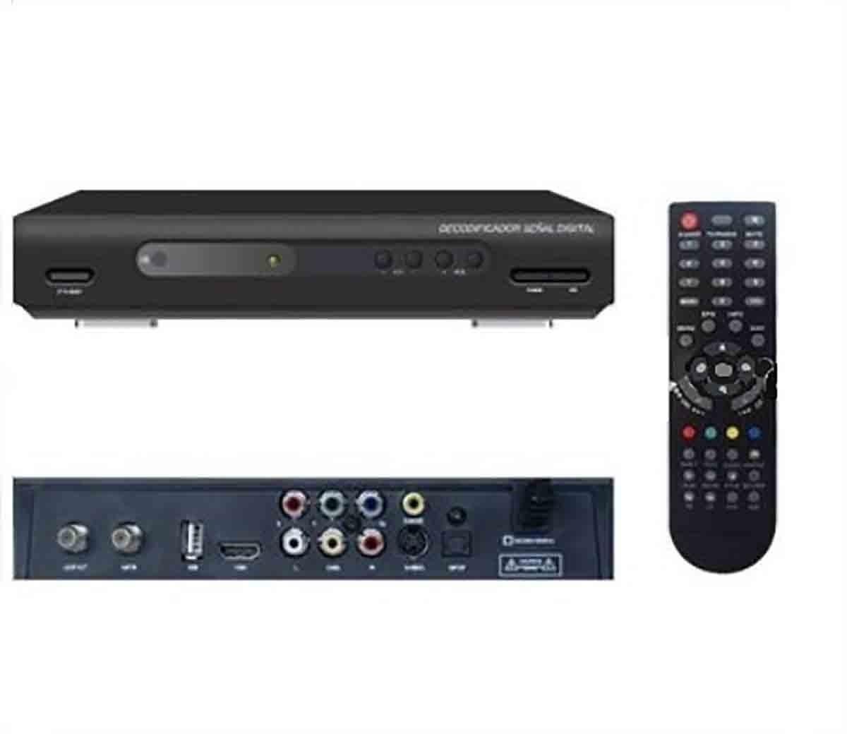 Decodificador Sincronizador Señal Digital Abierta Digi Tv