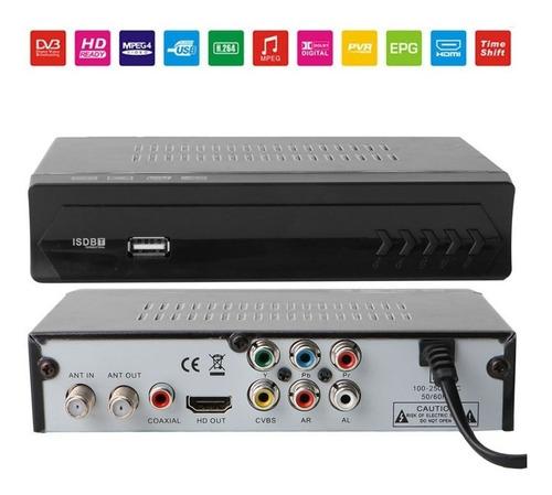decodificador sintonizador isdbt tda tdt hd tv digital anten