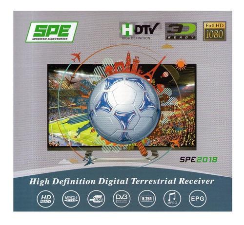 decodificador sintonizador tda hd tv digital hace1click2