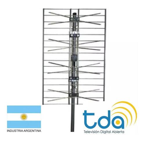 decodificador tda + antena + cable rg6 + instalacion
