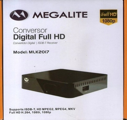 decodificador tda receptor tv digital hd 6c