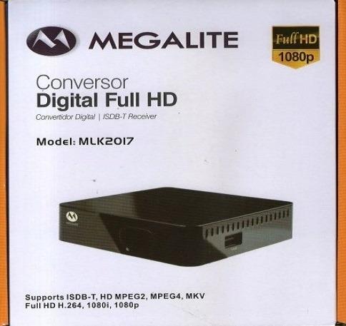 decodificador tda receptor tv digital hd + cable hdmi