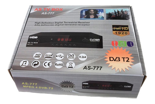 decodificador tdt 2 antena rca para youtube solo venta 1und