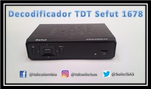 decodificador tdt +antena interior 10db +60 días de garantía