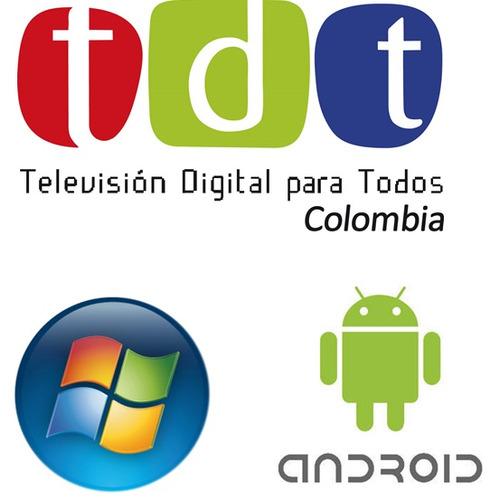 decodificador tdt dvb-t2 celular tablet pc canales hd nuevo!