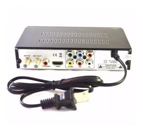 decodificador tdt full hd antena control remoto accesorios.