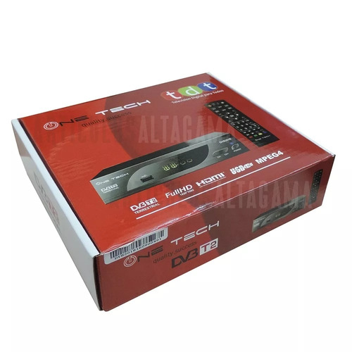 decodificador tdt receptor tv digital dvb t2 + antena + hdmi