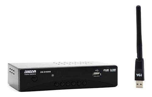 decodificador tdt  tv digital dvb t2 + antena + hdmi+ wifi