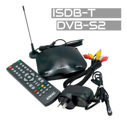 decodificador television digital abierta 1080p, hdmi, isdb-t