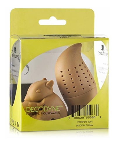 decodyne novelty tea infuser  ardilla