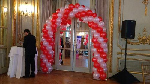 decoglobojosefina , decoracion con globos, globos con helio