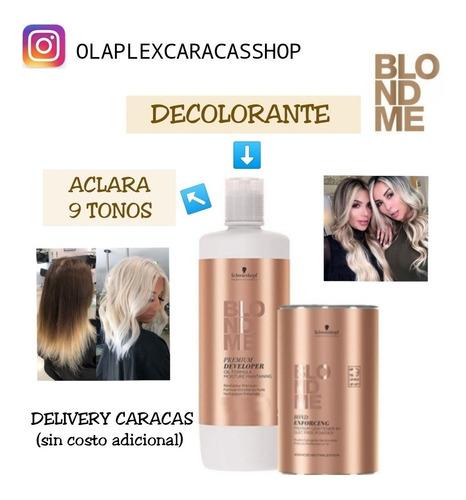 decolorante profesional blondme schwarzkopf 50 gr