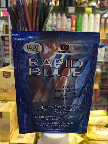 decolorante sache rapid blue 28 gr. oferta en la descripción