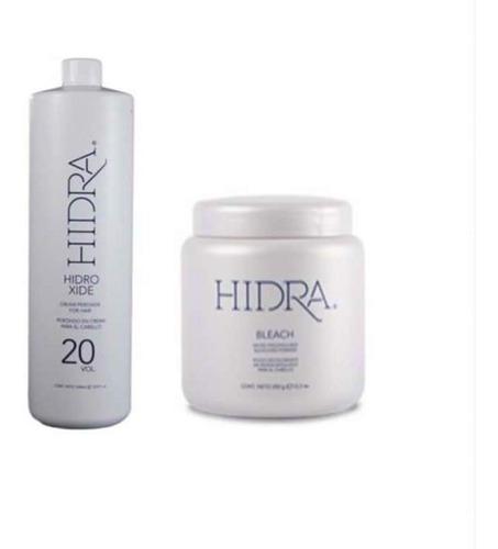 decolorante y peroxido hidracolor 350gr