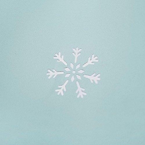 deconovo die cut copo de nieve rod bolsillo térmica ventana