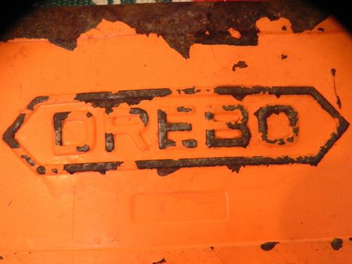 decor caixa  antiga  ferramanetas lata  drebo ano 1980