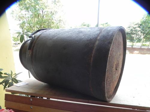 decor  latão leite  grande  antio 20 litros ano 1960