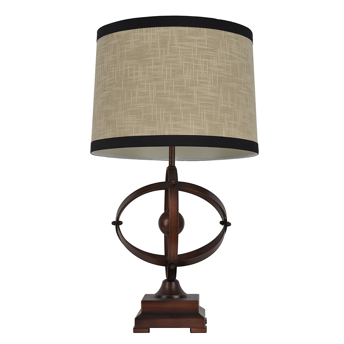 Dcor therapy tl7924 285 brown and black wood table lamp black wood table lamp cargando zoom aloadofball Choice Image