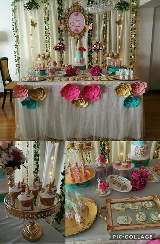decoracion 15 año infantil baby shower bautizo mesas vintage