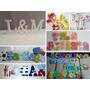 Letras Decoradas Infantiles Juegos Decoracion Cuarto Niños