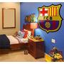 Calcomania Gigante!! Del Escudo Del Barcelona O Rea Madrid