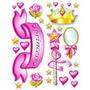 Etiquetas Decorativas Princesas 99783.! Cosan.:!