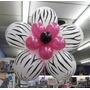 Globos Animal Print Decoración Zebra, Colores, Pack 10 Unid.
