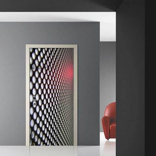 Decoracion adhesiva skin stickers para puertas for Perchas adhesivas para puertas
