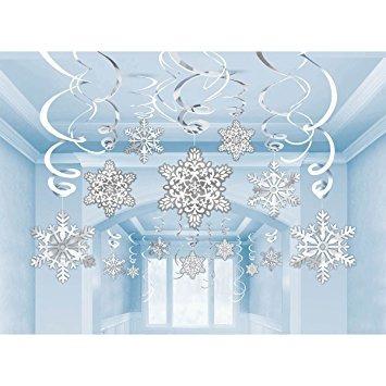 decoración amscan fiesta de navidad de las maravillas de in