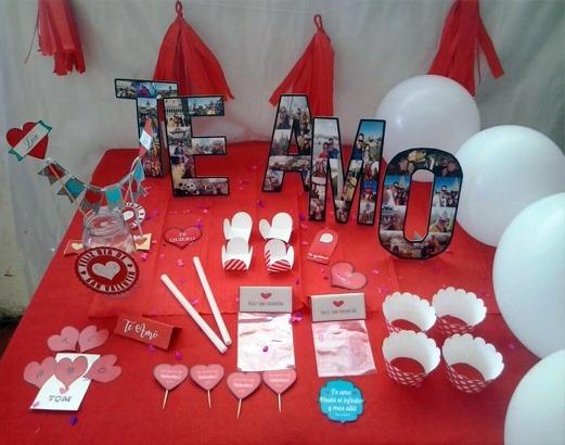 Decoracion Aniversario San Valentin Dias Especiales Bs 1300 - Decoracion-san-valentin
