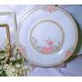Hermoso Plato Decorativo De Fina Porcelana China 28cm