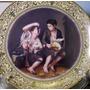 Hermosos Plato De Porcelana Con Reproduccion De Murillo N° 3