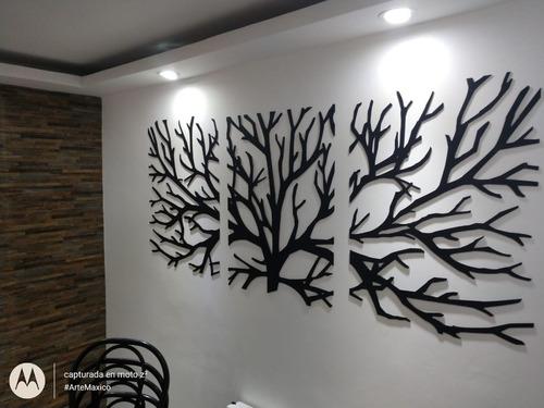 decoracion arbol seco madera mdf