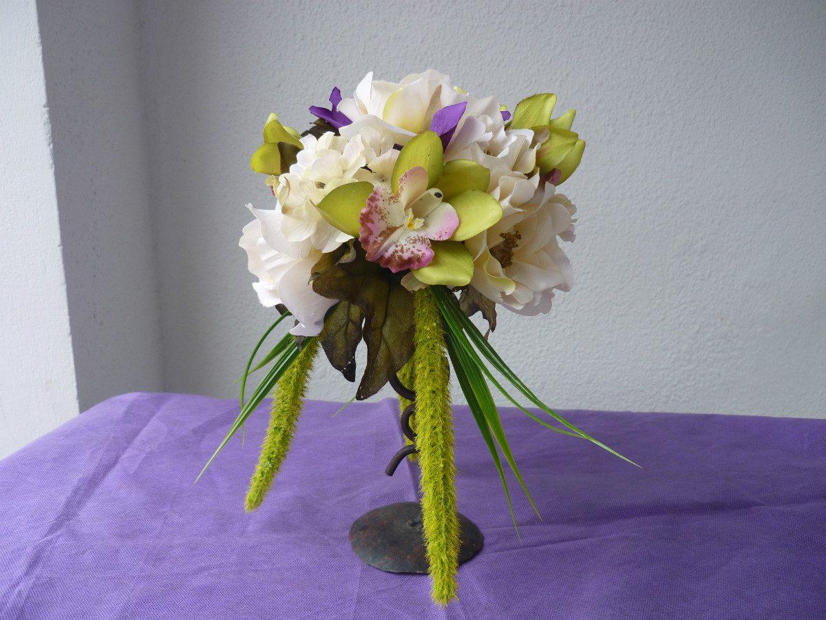 Decoracion arreglos florales flores artificial centro mesa - Decoracion flores artificiales ...