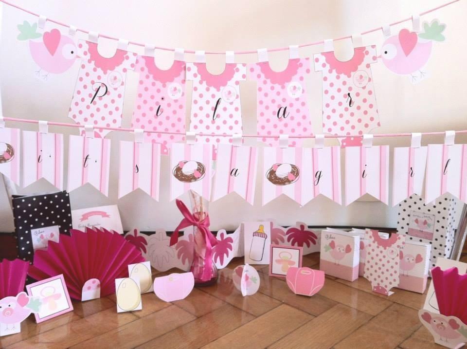 Decoracion baby shower ni a 2016 - Decoracion para baby shower nina ...