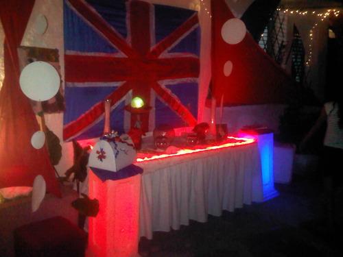 decoración bodas,15 años,fiestas telas tensadas cocteleria