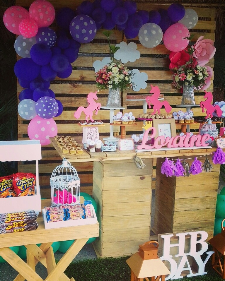 Decoraci n candybar cotillon globos pi atas fiestas cumple bs en mercado libre - Ideas decoracion bar ...