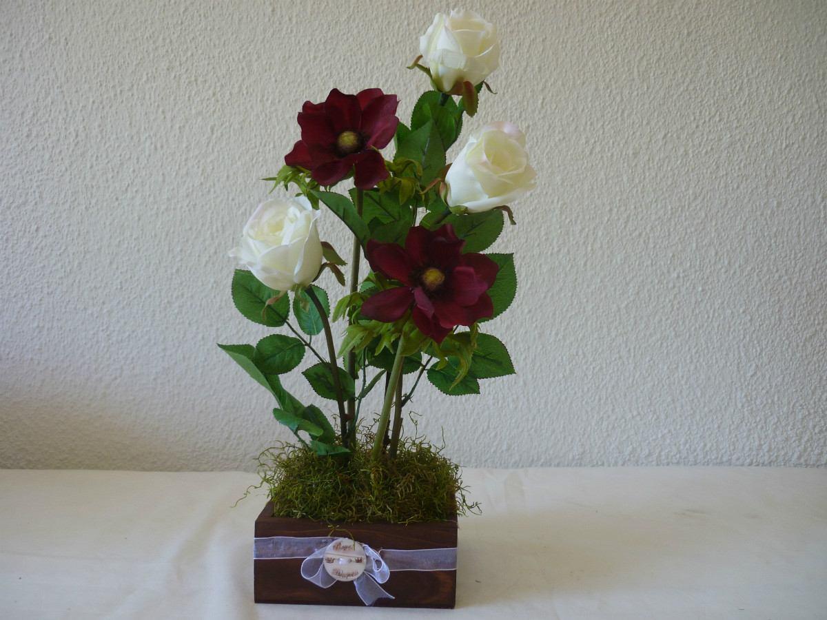 Decoracion arreglos florales flores artificial centro mesa 850 decoracion centro mesa cargando zoom thecheapjerseys Gallery