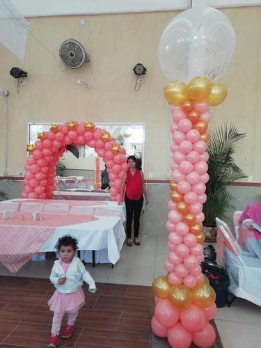 decoración con globo para eventos