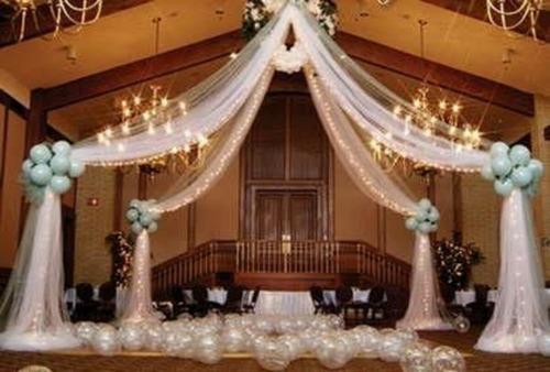 decoración con globos,