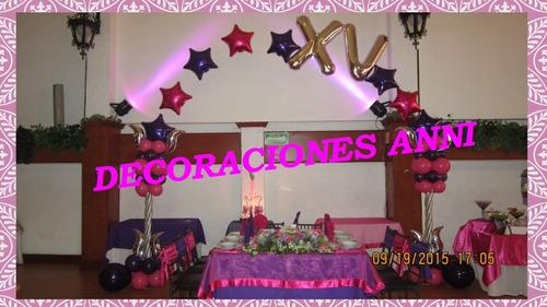decoración con globos arreglos, fiestas, eventos, regalos